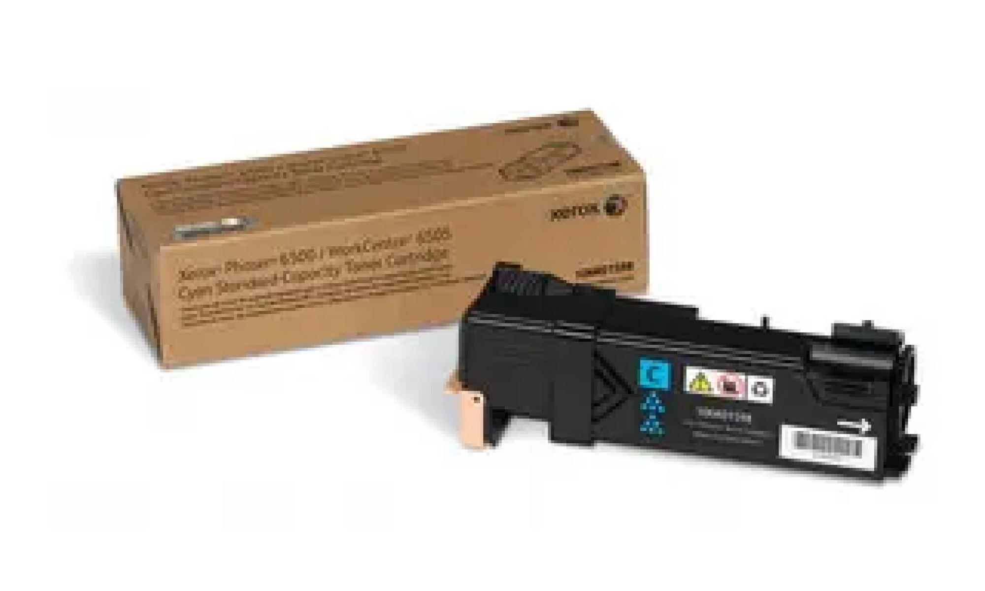 106R01598 Toner capacitate mica cyan pentru Phaser 6500, WorkCentre 6505