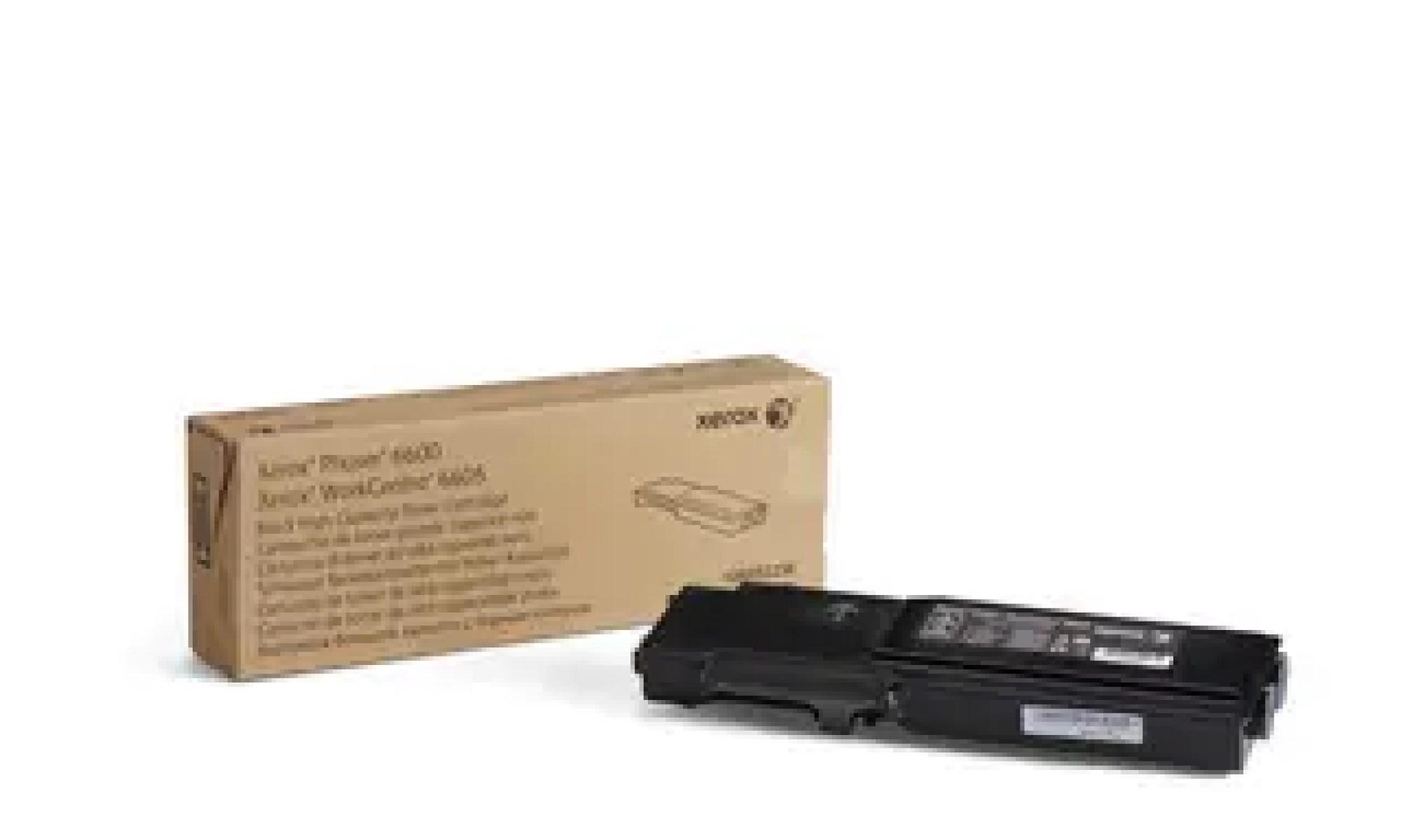 106R02236 Toner capacitate mare black pentru Phaser 6600, WorkCentre 6605