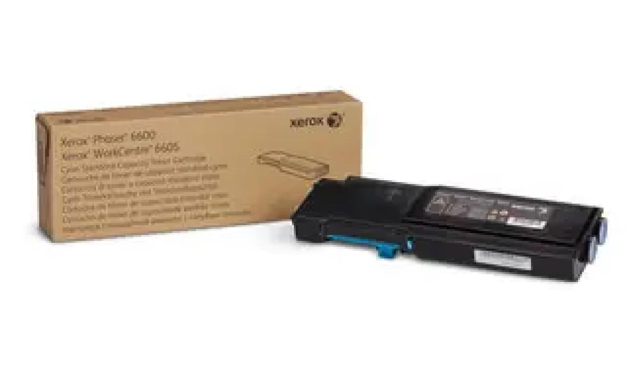 106R02249 Toner capacitate mica cyan pentru Phaser 6600, WorkCentre 6605