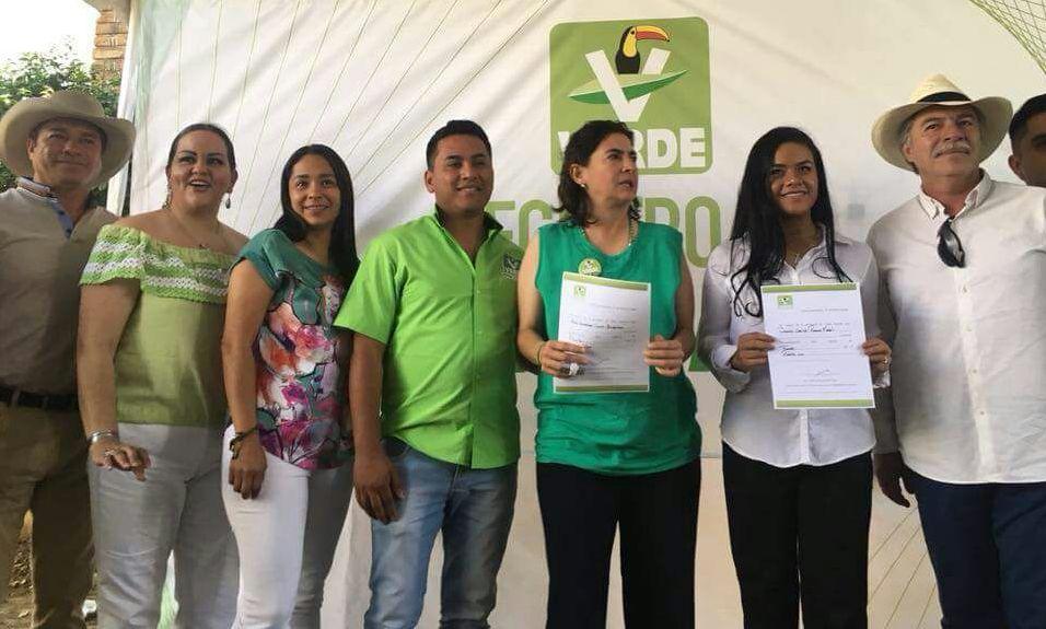 Integra Verde su planilla; Pita piensa pedir licencia en mayo