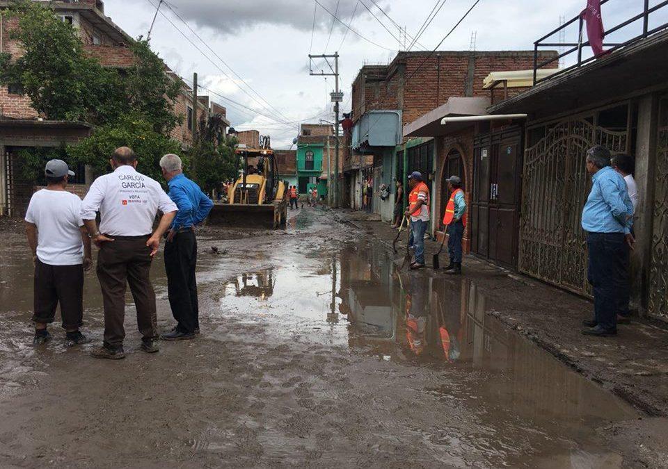 Suspende MORENA campaña… ¡para ayudar a personas afectadas!