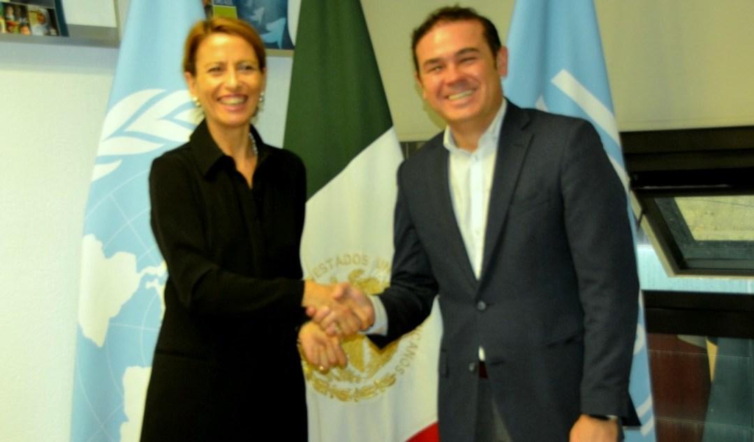 UNESCO y Navarro acuerdan fortalecer conservación patrimonial en Guanajuato