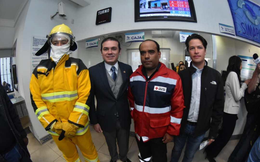 Solidario: Navarro lanza campaña con #SIMAPAG para apoyar a rescatistas