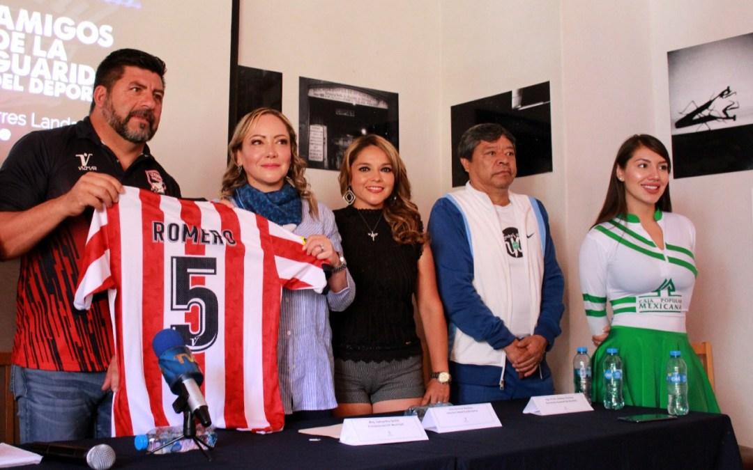 Se la juegan Leyendas de Chivas por la niñez capitalina y el DIF Municipal