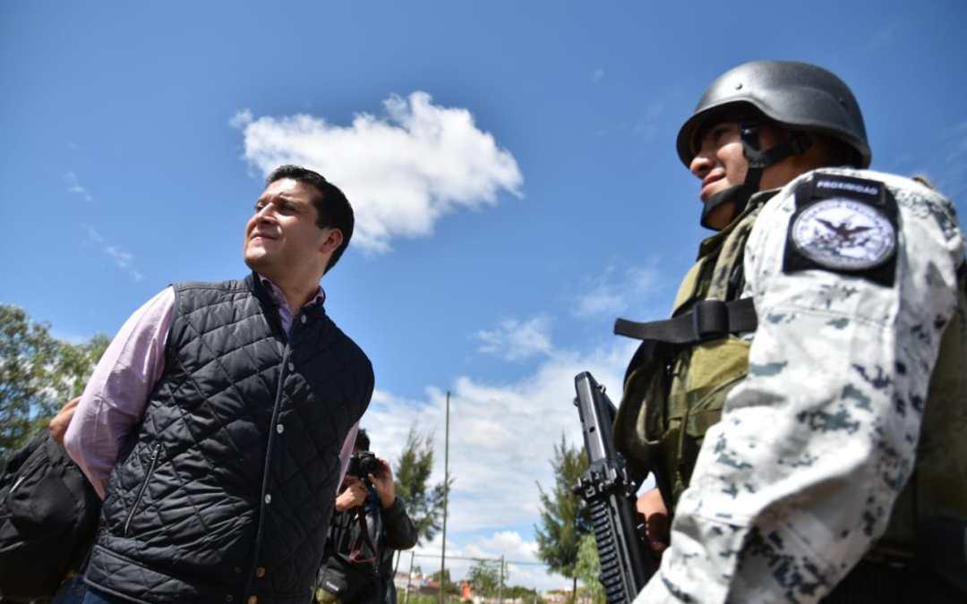 Llega la Guardia Nacional a Guanajuato Capital