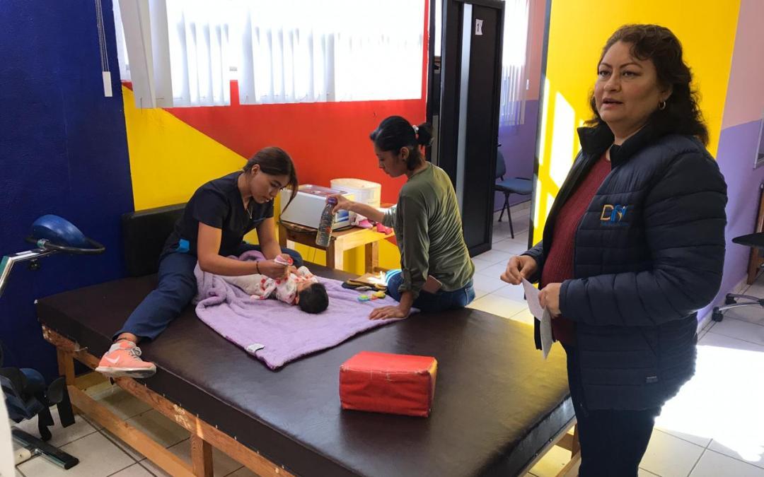Dan atención a bajo costo en la Unidad Médica del DIF Silao