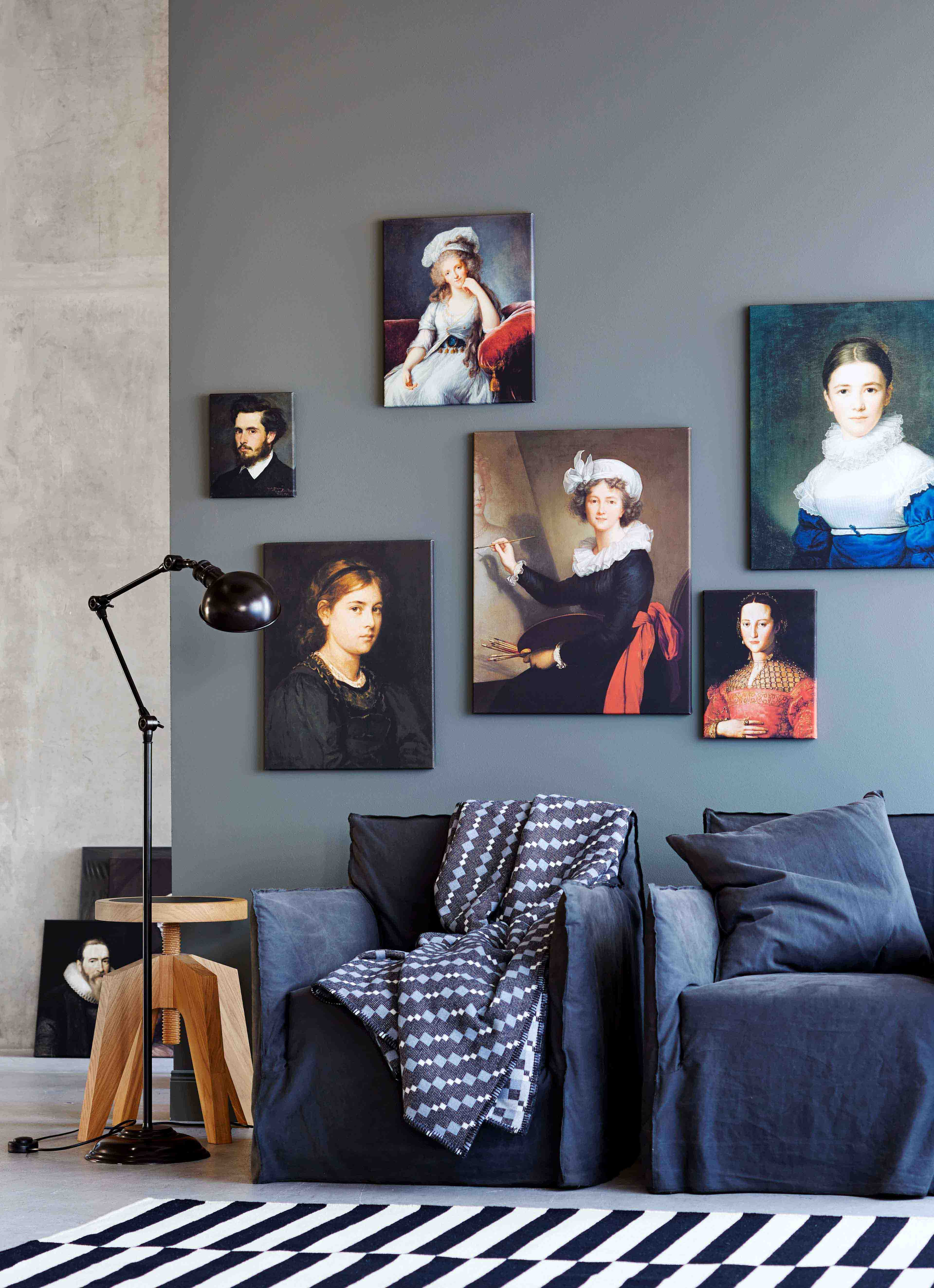 Bilder als Wanddekoration, Pictures as wall decoration