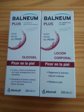 Review de Balneum Plus, alivio eficaz del picor