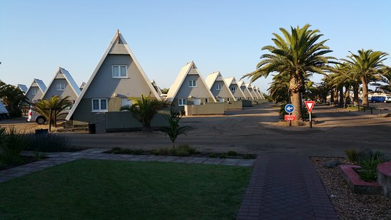 Chalets at Swakopmund Municipal Rest Camp _ Photo by Janine C