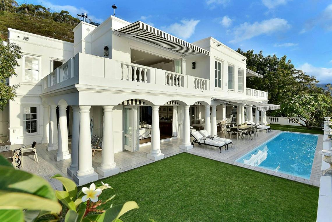 Opulent Colonial Villa in Clifton, Western Cape - South Africa - On Sale: Price 85 Million Rands
