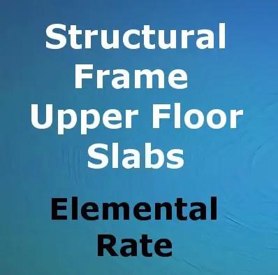 Composite Rate - Upper Floor Slabs