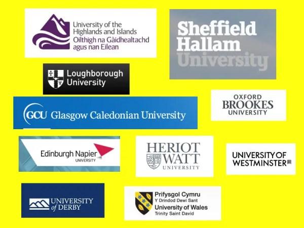 Quantity Surveying Universities