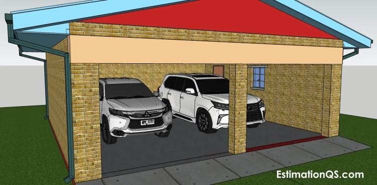 Cost Of Building A Detached Double, Double Garage Door Width South Africa