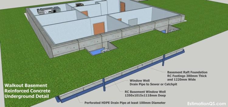 RC Walkout Basement Underground Detail_2 CUT