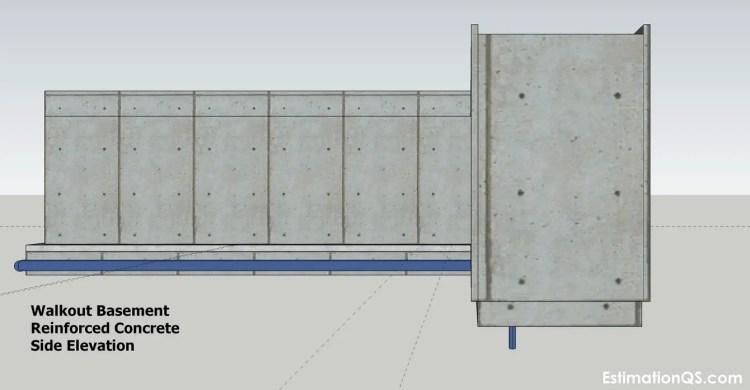Walkout Basement Side Elevation (2) CUT