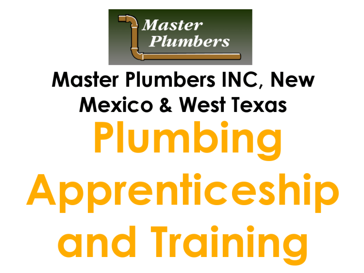 MASTER PLUMBERS APPRENTICESHIP TRAINING_NEW MEXICO_WEST TEXAS