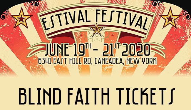 Estival Festival Blind Faith Tickets