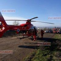 (FOTO, VIDEO) O persoana a murit și două sunt grav rănite în urma unui cumplit accident feroviar petrecut la Roșiești