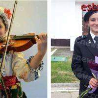Fata care a îmbrăcat haina militară, dar nu a renunțat la portul și cântecul popular