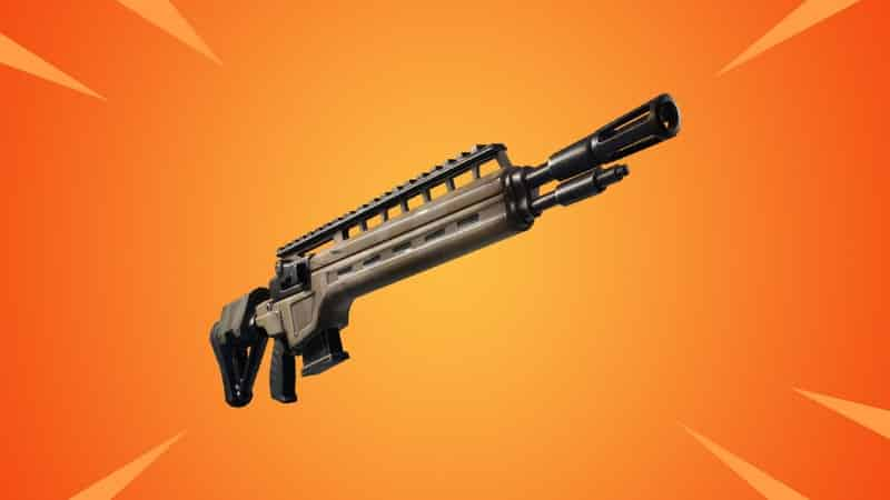 The Infantry Rifle as it appears in game in Fortnite
