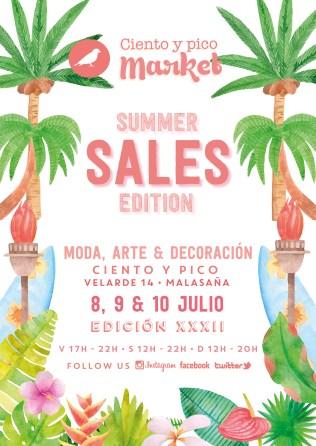 Cartel Ciento y pico Market Summer Sales Edition