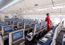 Delta le coloca Pantallas en los respaldos a 500 de sus aeronaves