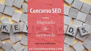 Concurso SEO – Mapeado de keywords