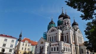 Alexander Nevsky Cathedral Tallinn Estonia