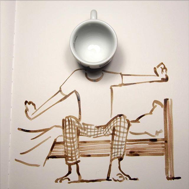 Domingos abstractos, por Christoph Niemann