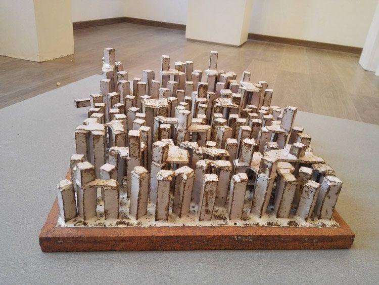 Arquitectura en cerámica de Carlos Izquierdo