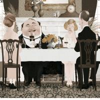 Humor y elegancia en las ilustraciones de Iban Barrenetxea