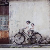 El cautivador arte callejero de Ernest Zacharevic