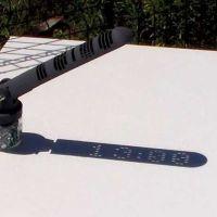 Digital Sundial, el reloj de sol digital de Mojoptix