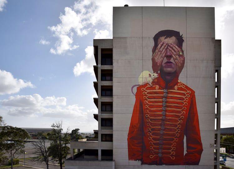 Los murales ilustrados de ETAM