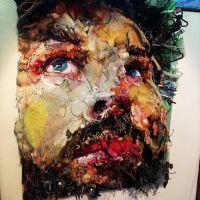 Sorprendentes retratos reciclados de Tom Deininger