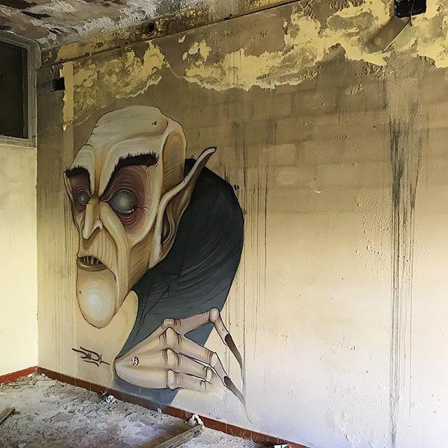 DavidL, graffitis de cine