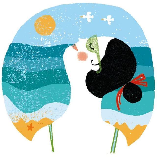 Las coloridas ilustraciones de Marta Antelo