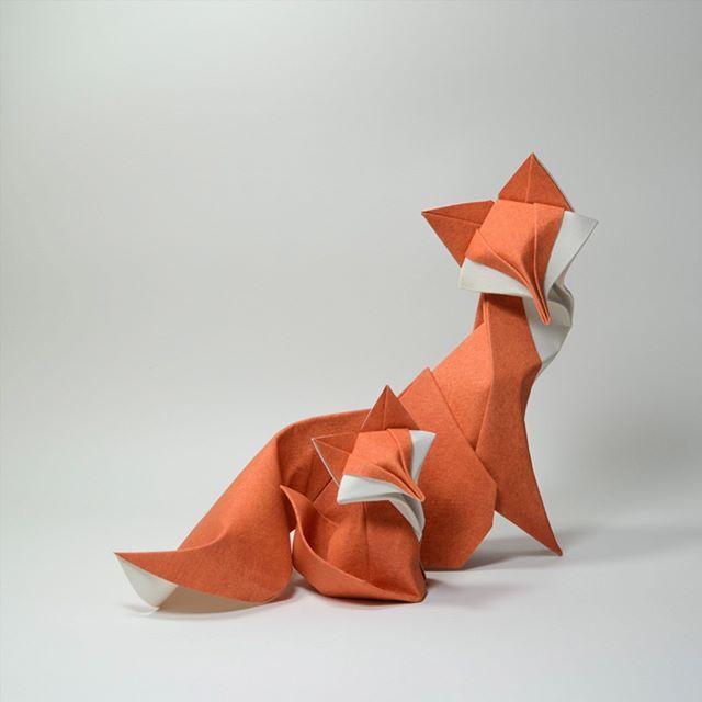 Animales de origami de Hoàng Tiến Quyết