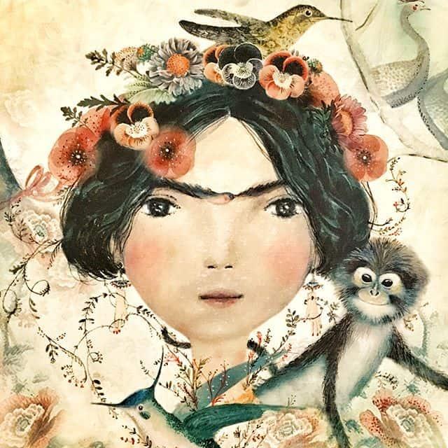 Las románticas ilustraciones de Estudio Thilopía
