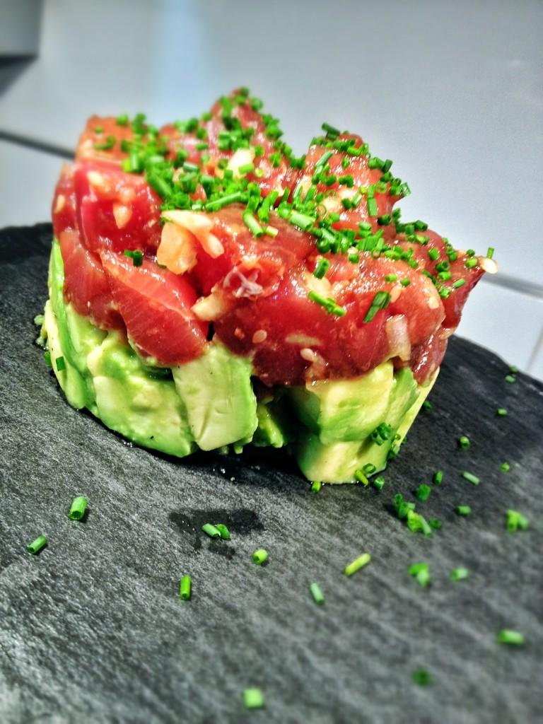 Receta Tartar De Atun Con Aguacate Food Avocado Recipes Healthy Recipes