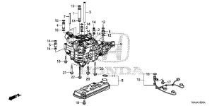 254205LJ003   STRAINER ASSY (CVT)  Bernardi Parts