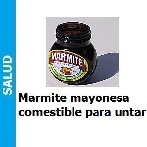 Marmite, Marmite mayonesa comestible para untar