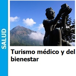 Auge del turismo médico y del bienestar.