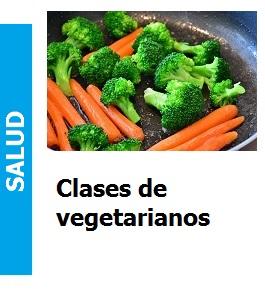 Clases de vegetarianos, Clases de vegetarianos