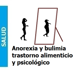 Anorexia y bulimia, trastorno alimenticio y psicológico, Anorexia y bulimia, trastorno alimenticio y psicológico