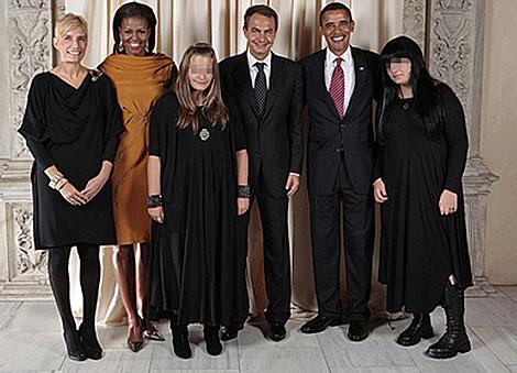 hijas zp obama familia