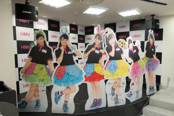 HMV栄のステージ