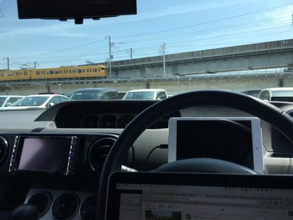MacBook Proを車内で使うのは地獄