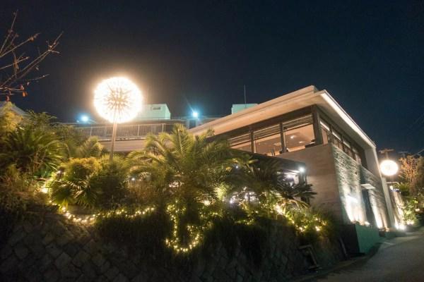 夜景が美しいレストラン