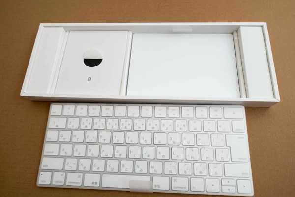 Magic KeyboardとMagic Trackpad 2